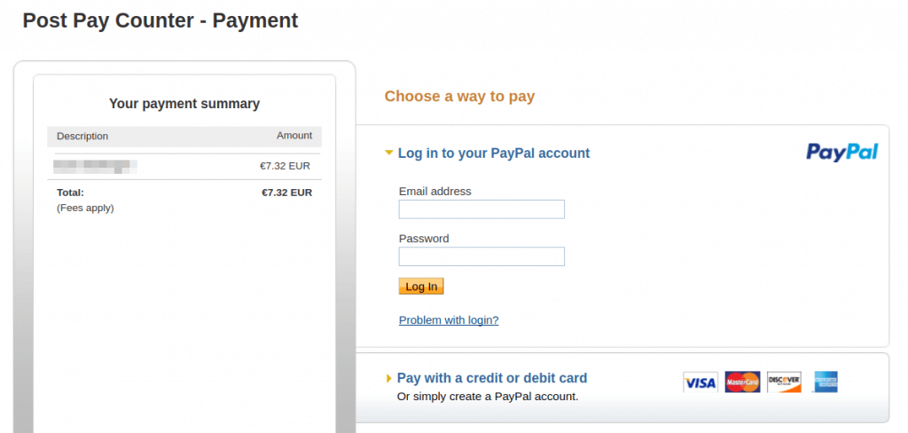 Mark as paid - PayPal payment